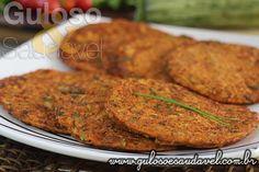 Quem vai querer esta deliciosa Panqueca de Abobrinha com Linhaça para o #jantar? Anote a receita porque é sensacional! #Receita aqui: http://www.gulosoesaudavel.com.br/2014/09/30/panqueca-abobrinha-linhaca/