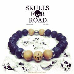 Skull Bracelet, Beaded Bracelets, Skulls, Handmade, Jewelry, Design, Hand Made, Jewlery, Jewels