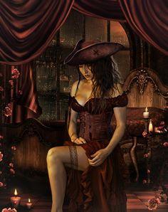 f Rogue Thief Pirate hilvl smuggler Merchant coastal urban city Casino Owner Tavern Inn Docks Ships Fantasy Dimentions Fantasy Art Women, Fantasy Girl, Dark Fantasy, Pirate Art, Pirate Life, Pirate Wench, Pirate Woman, Lady Pirate, Mode Steampunk