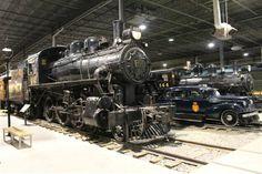Locomotive CPR 492 & CPR 144 & Inspection Car CPR M-235