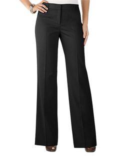 Black Classic Trouser - Anne Klein @ GetThis.tv $68