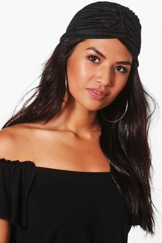 #affiliatead -- boohoo Sophie Plain Jersey Turban -- #Chic Only #Glamour Always