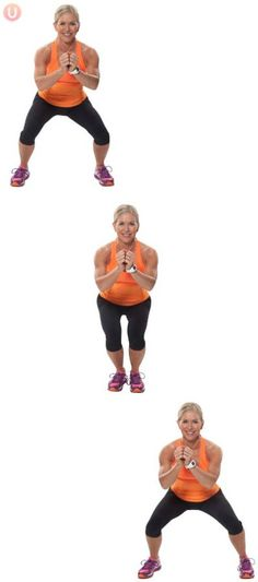 Try side to side squats for better buns
