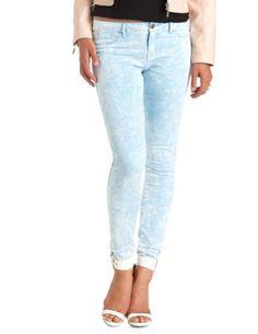 """Refuge """"Skin Tight Legging"""" Light Acid Wash Jeans: Charlotte Russe"""