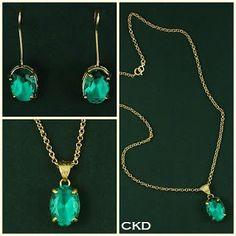Maravilhosa a cor vibrante do cristal turmalina!! www.ckdsemijoias.com.br