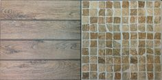 Porcelain Stone & Wood mix floor tile