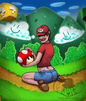 Mario by Monomus
