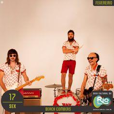 Beach Combers / Dirty Devil Band / Barizon   sexta, 17/02/17   Preço: 20   Horário: 20:00   Saloon 79 - Rua Pinheiro Guimarães, 79 – Botafogo