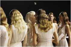ELIE SAAB Ready-to-Wear Spring Summer 2012 - Backstage