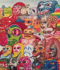 Just found this 2008 Matt Furie postcard for Bueneaventura in a...