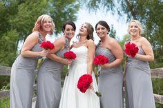 Bridesmaids candid photos Kansas City wedding photographer