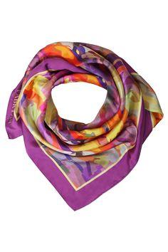 Fabryan bird of paradise silk scarf £100