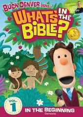 what's in the Bible dvd by veggietales creator... good for when the kiddos reach Kindergarden-ish