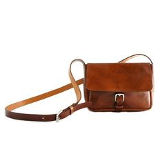 The perfect little brown leather satchel #leatherlove #leatherbag