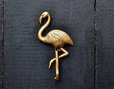 flamingo wall hooks. Flamingo decor, decorative hooks. flamingo print. flamingo gift ideas. Drawer pulls and handles by Thefoundryman on Etsy https://www.etsy.com/listing/509863450/flamingo-wall-hooks-flamingo-decor