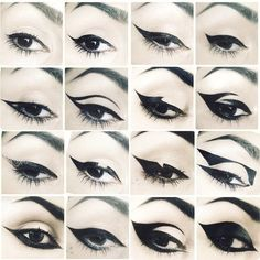 Shop Kat Von D& Tattoo Liner. Explore more of Kat Von D& collection of. Makeup Inspo, Makeup Art, Makeup Inspiration, Makeup Ideas, Makeup Guide, Bat Makeup, Scene Makeup, Movie Makeup, Makeup 2018
