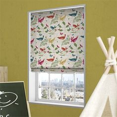 Hygge Birds Vintage Linen Summer Berry Roman Blind Summer Berries, Vintage Linen, Roman Blinds, Roman Shades, Hygge, Berry, Curtains, Home Decor, Blinds