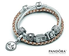 Pandora Destinations - new charms for travelers