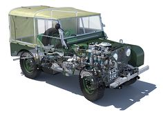 1950 Land Rover 80 Series