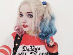 Character: Harley Quinn (Dr. Harleen Quinzel) / From: DC Comics & Warner Bros. Pictures 'Suicide Squad' / Cosplayer: Aline cosplay (aka Mia Sundance)