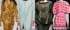 Fall Winter 2014-15, Premium Magpie a key trend theme, women's apparel and accessories, runway 1