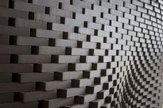 Architecture and Digital Fabrication: Brick Wall Movement In Architecture, Light Architecture, School Architecture, Architecture Design, Architecture Interiors, Brick Art, Brick Detail, Arch House, Apartment Projects