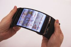 ReFlex: Revolutionary Flexible Smartphone Allows Users To Feel The Buzz By Bending Their Apps. Flexible Electronics, Futuristic Gadget, Future Technology