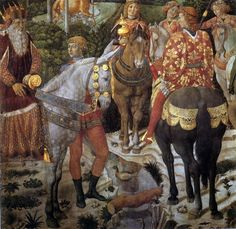 Detail from Procession of the Oldest King from the Procession of the Kings,c. 1459