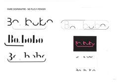 """Maëna Carpentier - Bobobo - #Identité #graphique pour une boutique de pansements esthétiques/graphiques et produits #parapharmaceutiques """"pour que le bobo semble faire moins mal""""."""