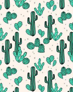 Cactus by Andrea Lauren Art Print