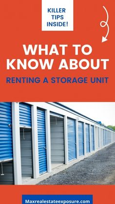 Real Estate Articles, Real Estate Information, Real Estate Tips, Storage For Rent, Self Storage Units, Home Selling Tips, Storage Facility, Estate Homes, Real Estate Marketing