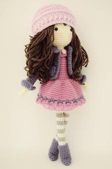 Crochet Doll Pattern, Crochet Patterns Amigurumi, Amigurumi Doll, Knitted Dolls, Crochet Dolls, Crochet Hats, Doll Tutorial, Photo Tutorial, Cute Crochet