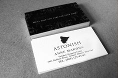 9 best business card design images on pinterest business card business card design for cosmetics company reheart Gallery