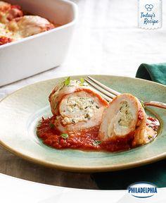 Roll up the Tomato Basil Chicken for a winner, winner, chicken dinner.