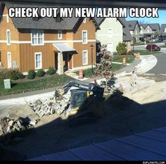 Check Out My New Alarm Clock