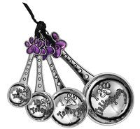 Pawfect Recipe Measuring Spoon Set at The Animal Rescue Site