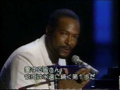 """BEST BEST Marvin Gaye - What's going on (Live)  You got to talk to me so you can see..."""""""
