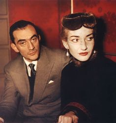 """After their collaboration her friend and director in """"La Vestale"""" Luchino Visconti had said """"I did it to serve Callas, for one must serve a Callas"""". True. #legends #mariacallas #luchinovisconti #incomparable #artists #inspirational #february2018"""