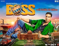 Boss : Satyakant (Mithun Chakraborty) unknowingly kills a teenager and his eldest son, Boss (Akshay Kumar), takes the blame on himself. He's sentenced to jail. When he serves his term and is released, Boss moves to another city. Meanwhile, Satyakant's younger son, Shiv [Shiv Pandit], bashes up the Home Minister's son Vishal Aakash Dabhade, who's harassing Ankita (Aditi Rao Hydari), the sister of a top cop (Ronit Roy). All hell breaks loose at this point.