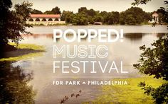 POPPED! Music Festival by Daniel Olsovsky, via Behance