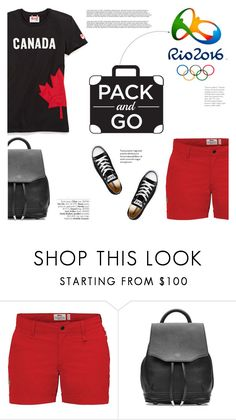"""""""Pack and Go: Rio 2016"""" by katsin90 ❤ liked on Polyvore featuring Fjällräven, rag & bone, Converse, Avenue and rio"""