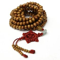 Item Specifics: Type: Buddhist Bead Bracelet/Necklace Material: Wood Color: As show in picture Gender: Unisex Bead Number: 216 Bead Diameter: 6mm Length: About 55cm Weight: About 20g Package Includes: