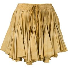 Vivienne Westwood Gold Label 'Facette' skirt ($664) ❤ liked on Polyvore featuring skirts, beige skirt and vivienne westwood gold label