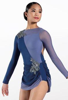 Weissman® Lyrical Costumes, Split Skirt, Mesh Skirt, Side Split, Dance Dresses, Elegant Dresses, Leotards, Dress Making, Polyester Spandex