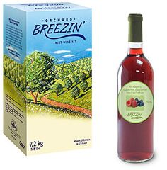 I recently started making wine and so far orchard breezin kits are always a winner! 30 bottles a batch peeps!