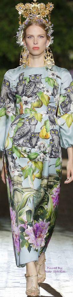 Dolce & Gabbana Alta Moda Fall 2015 Couture ~ ♕♚εїз   BLAIR SPARKLES  
