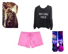 """fan"" by livinglikelaney ❤ liked on Polyvore featuring H&M"