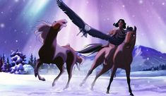 Spirit Horse Movie, Spirit The Horse, Spirit And Rain, Horse Animation, Dreamworks Animation, Disney And Dreamworks, Arte Disney, Disney Fan Art, Disney Horses