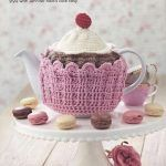Cupcake Teacosy with a Cherry on Top Crochet Pattern