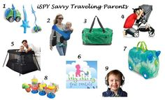 iSPY Savvy Traveling Parents!  Gear that helps traveling become enjoyable again! @Bouche Baby